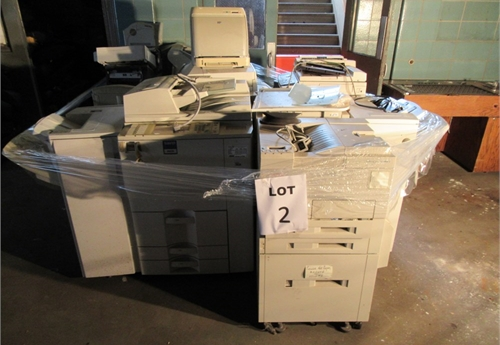 LOT 2 : Assorted Copiers and Printers